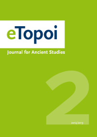 Cover of eTopoi. Volume 2